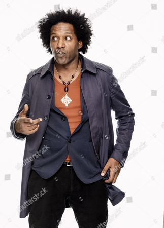 Studio shoot with poet Lemn Sissay