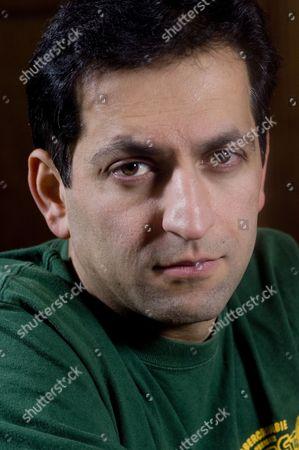 Editorial image of UK documentary maker Amir Amirani Photoshoot, London, Britain - 26 Nov 2007
