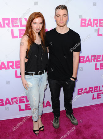 Stock Photo of Annalise Basso and Gabriel Basso
