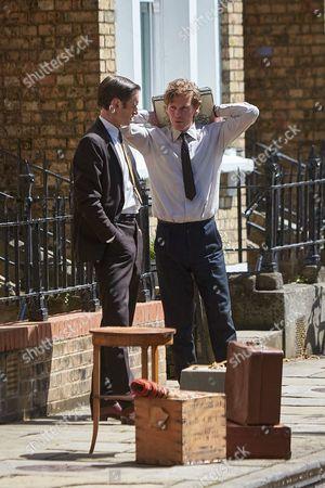 Shaun Evans and Jack Laskey