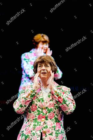 Stock Image of Pam Ayres