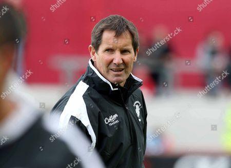 Barbarians' coach Robbie Deans