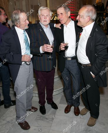 Editorial photo of 'Just Jim Dale Still Carrying On' play press night at the Vaudeville Theatre, London, Britain - 28 May 2015
