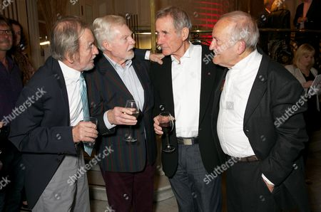 Editorial picture of 'Just Jim Dale Still Carrying On' play press night at the Vaudeville Theatre, London, Britain - 28 May 2015
