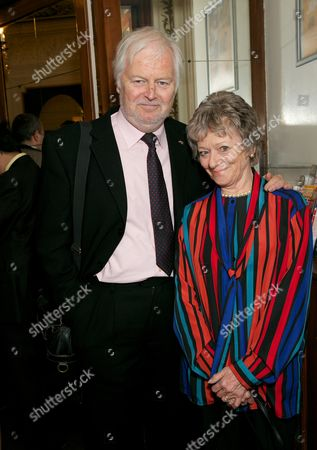 Ian Lavender & his partner