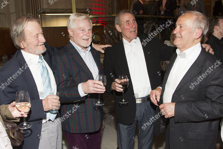 Editorial image of 'Just Jim Dale Still Carrying On' play press night at the Vaudeville Theatre, London, Britain - 28 May 2015