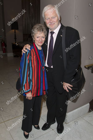 Miki Hardy and Ian Lavender