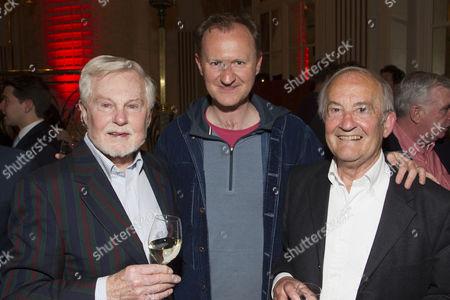 Stock Image of Derek Jacobi, Mark Gatiss and Charles Kay