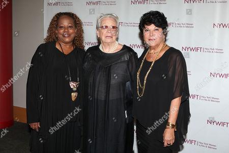 Beverly Jo Pryor, Ann Roth and Francesca Paris