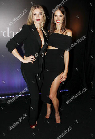 Grazi Massafera and Alessandra Ambrosio