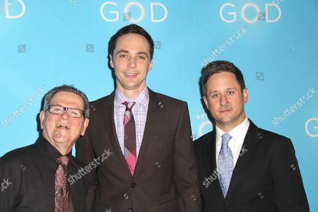 Tim Kazurinsky, Jim Parsons, Christopher Fitzgerald