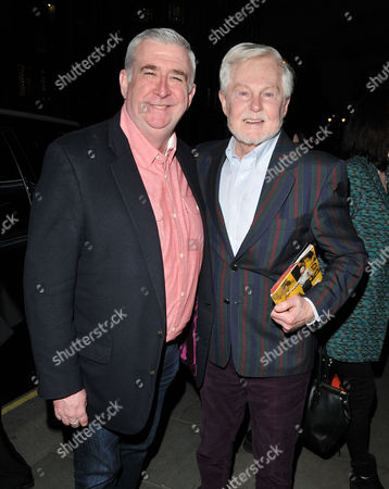 Gerard Horan and Sir Derek Jacobi