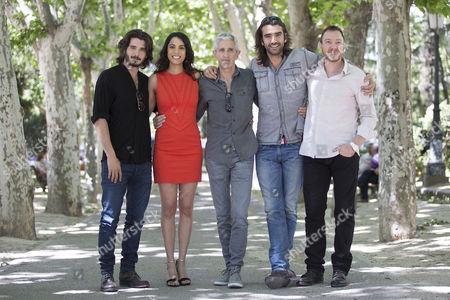 Editorial picture of 'Matar El Tiempo' Film Photocall at Plaza De Espana in Madrid, Spain - 27 May 2015