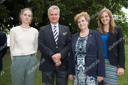 Princess Leopoldine of Liechtenstein, Princess Marie of Liechtenstein, Prince Gundakar of Liechtenstein and Princess Maria-Immaculata of Liechtenstein