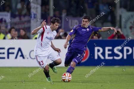 Coke (Sevilla), David Pizarro (Fiorentina)