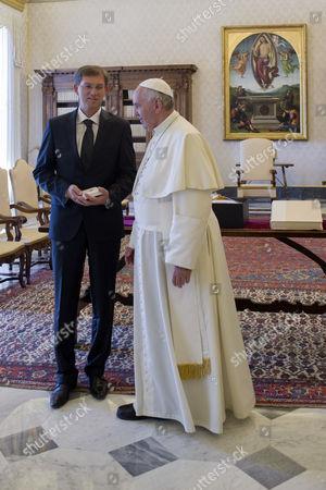 Miroslav Cerar., Pope Francis I
