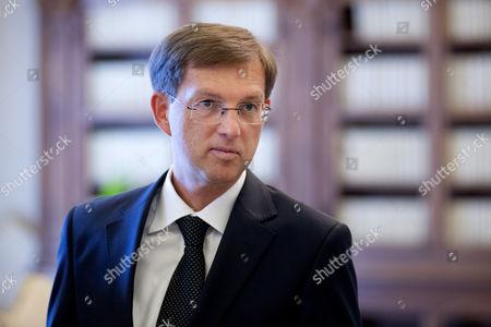 Stock Image of Miroslav Cerar.