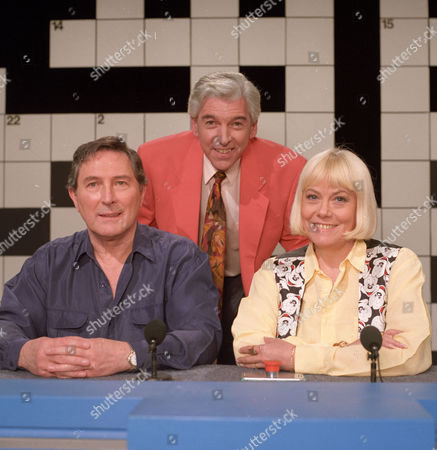 Tom O'Connor with Mark Eden and Wendy Richard