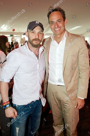 Tom Hardy and Andre Konsbruck
