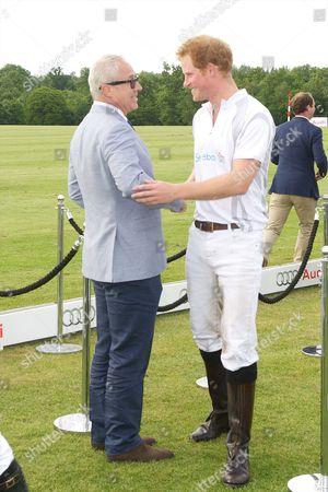 Jon Zammett and Prince Harry