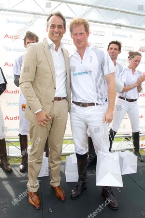 Andre Konsbruck and Prince Harry