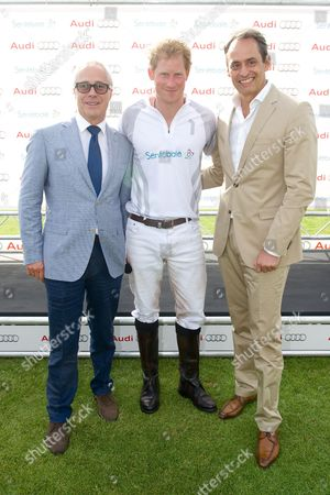 Jon Zammett, Prince Harry and Andre Konsbruck