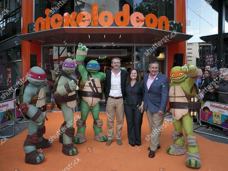 Editorial photo of Nickelodeon flagship store opening, London, Britain - 29 May 2015