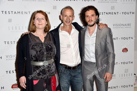 Rosie Alison, James Kent and Kit Harington