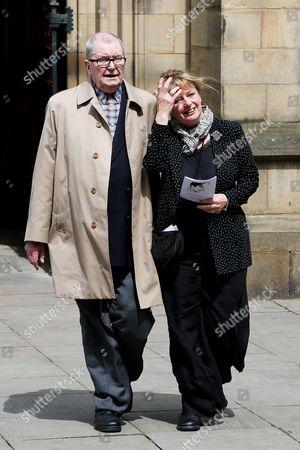 Tony Warren with wife