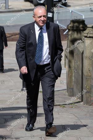 John Bowe arriving