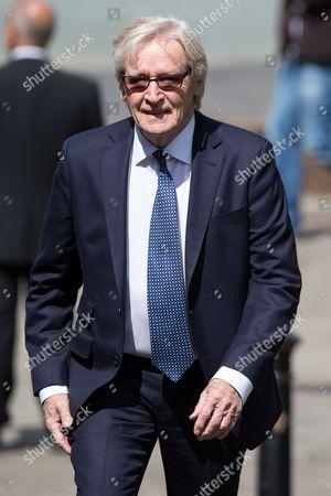 Stock Picture of William Roache arriving