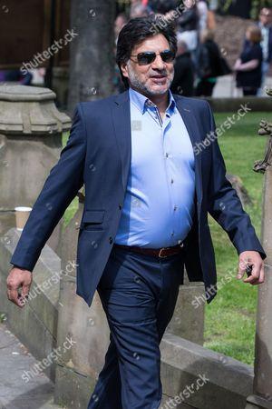 Stock Image of Marc Anwar arriving