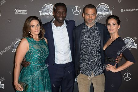 Guest, Omar Sy, Tony Parker, Axelle Francine