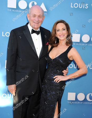 Bruce Karatz and Lilly Tartikoff Karatz