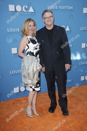 Kimberly Shlain and Albert Brooks