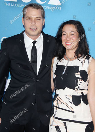 Shepard Fairey and wife Amanda Fairey