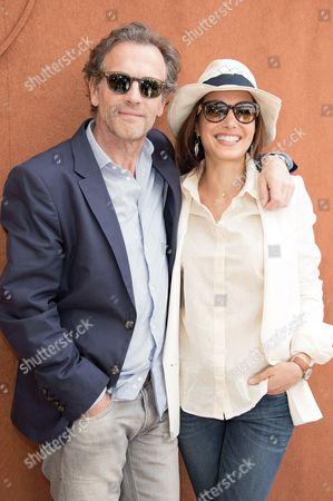 Stephane Freiss and wife Ursula
