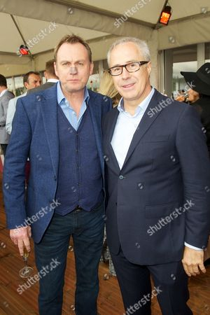 Phil Glenister and Jon Zammett