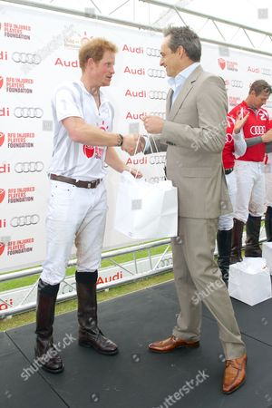 Prince Harry and Andre Konsbruck