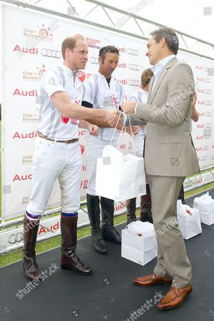 Prince William and Andre Konsbruck