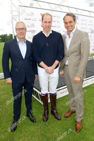Jon Zammett, Prince William and Andre Konsbruck