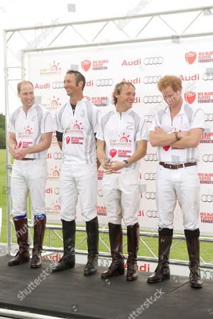 Editorial picture of Audi Polo Challenge, Coworth Park, Ascot, Britain - 31 May 2015