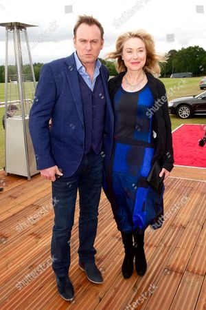 Philip Glenister and Beth Goddard