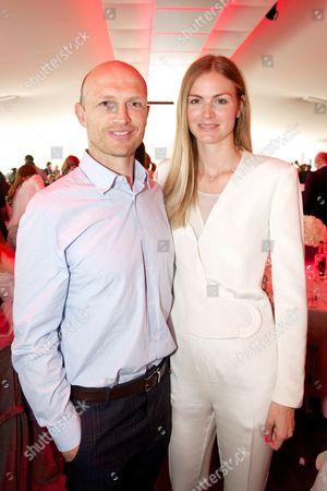 Stock Image of Matt Dawson and Carolin Hauskeller