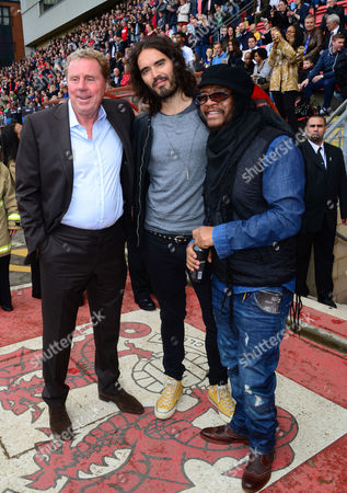 Harry Redknapp, Russell Brand, Maxi Priest