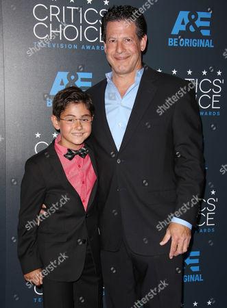 Blake Garrett Rosenthal and father