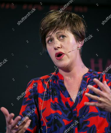 Editorial photo of Hay Festival, Powys, Wales, Britain - 30 May 2015