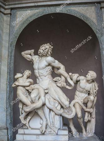 LAOCOON /& HIS SONS EL GRECO PAINTING TROJAN PRIEST GREEK ART REAL CANVAS PRINT