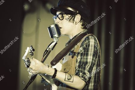 Editorial picture of Micah P. Hinson in concert, Rome, Italy  - 25 May 2015