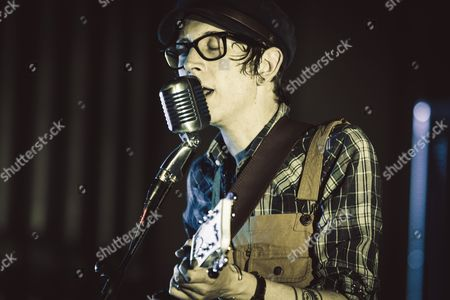 Editorial image of Micah P. Hinson in concert, Rome, Italy  - 25 May 2015